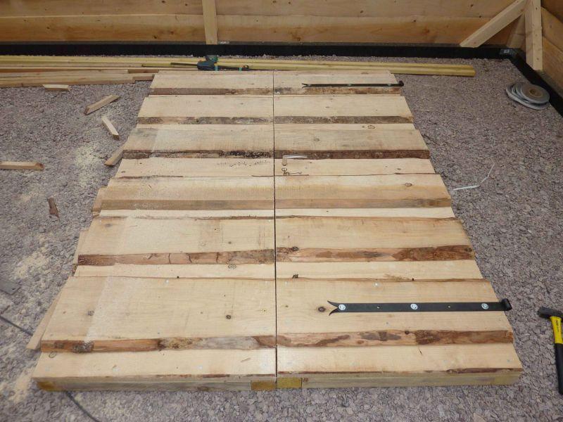 Construction archive at mon abri de jardin - Construire une porte ...